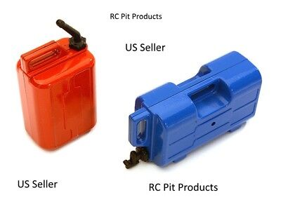 Jerry Can Gas Fuel Tank & Water Can for 1/10 Scale Rock Crawler US Seller