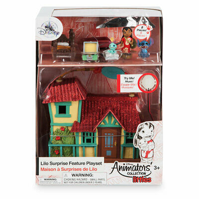 Disney Animators' Collection Littles Lilo Surprise Feature Playset New with Box