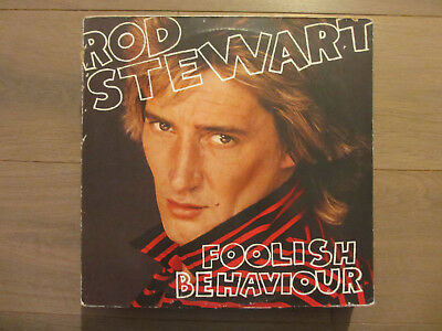 Rod Stwart - Foolish Behaviour - 1980 - Vinyl - LP (12 Inch) 80er