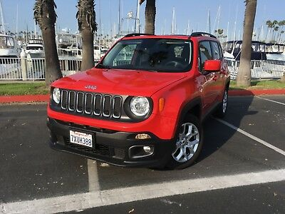 2017 Jeep Renegade  2017 jeep renegade latitude 2.4l