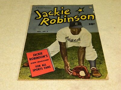 September 1950 Fawcett Publication Jackie Robinson Comic Book #3 (SCARCE)