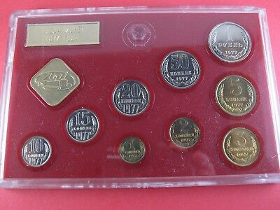 1977 Soviet Union Russian Mint Set