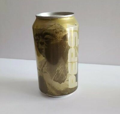 Limited edition Golden Yoda Pepsi can star wars episode 1