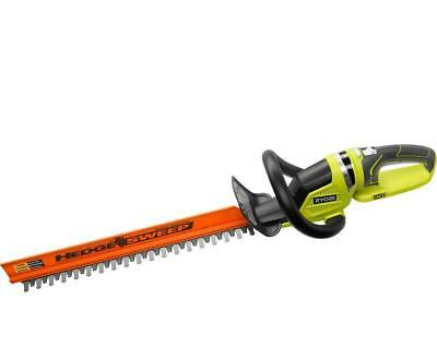 """Brand New Ryobi P2606 One+ 22"""" 18V Cordless Hedge Trimmer - Tool Only"""