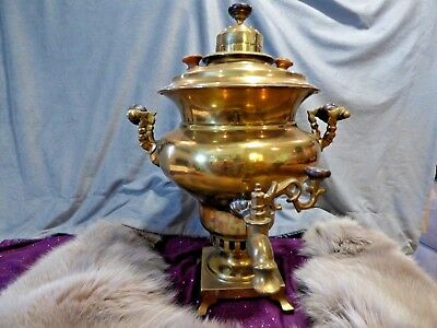 Rare Russian antique samovar Batashev Brothers 1890 From Russian Antique Shop