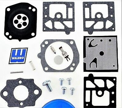 Carburetor Kit plus Mounting Gasket Metering Spring fits HD23 HD23A HD31 CW21