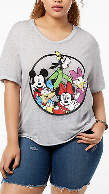 8f68cea6667 Disney Trendy Plus Size Mickey Mouse   the Gang Silly Shirt 1X Womens  FreeShip