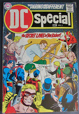 DC Special #5, (DC Comics, Dec. 1969) VG- to VG+, 3.5 to 4.5