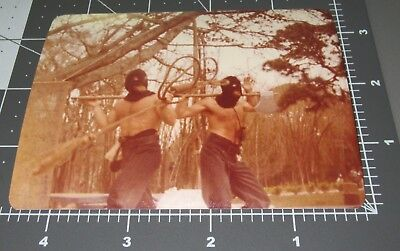 Shirtless TORTURE Men Hair Chest Beefcake Muscle Man MASK Vintage Gay Int PHOTO