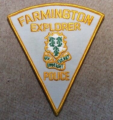 CT Farmington Connecticut Explorer Police Patch