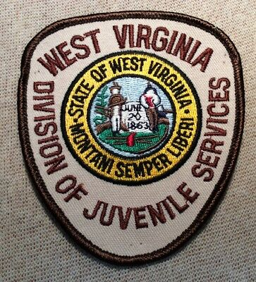 WV West Virginia Division of Juvenile Services Patch