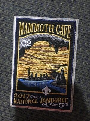 Mint 2017 National Jamboree Subcamp Patch C2 Mammoth Cave