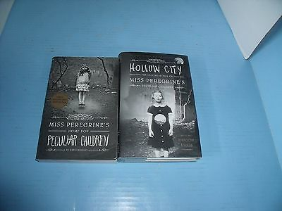 Ransom Riggs Lot Of 2 Miss Peregrine's Home For Peculiar Children*hollow City