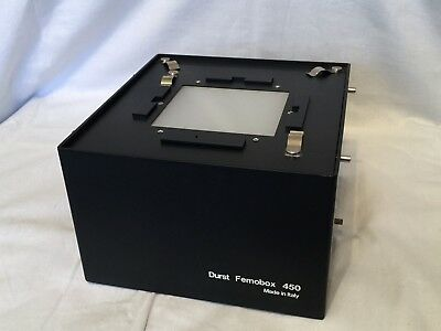 Durst Femobox 450 mixing box 4x5 for Durst L1200 enlarger, Used but good shape