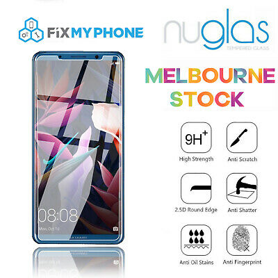 Nuglas Genuine Tempered Glass Screen Protector For Huawei Mate 10 Pro 6.0""