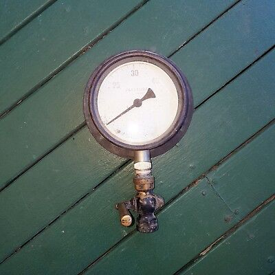 Industrial Steam Pressure Gauge #3 - Vintage/steam-Punk