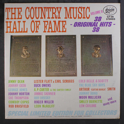 VARIOUS: The Country Music Hall Of Fame, Vol. 2 LP Sealed (Mono, 2 LPs)