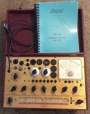 Vintage Hickok 800a tube tester w/ manual Great condition for it's age!