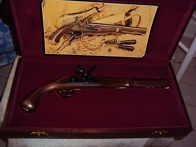 Black Powder Model 1806 Harper Ferry Pistol Replica With Case