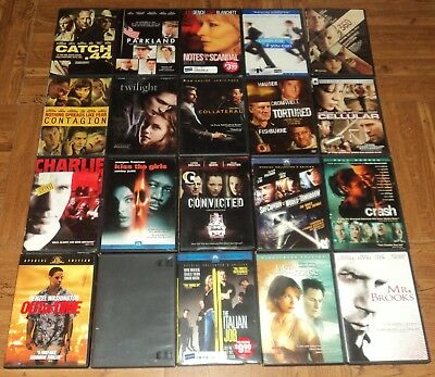 LOT OF 45 DVDs - Thriller, Suspense, Mystery - $30 00   PicClick