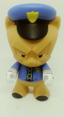 Looney Tunes- That's All Folks! Kidrobot Mini Porky Pig Policeman Figure