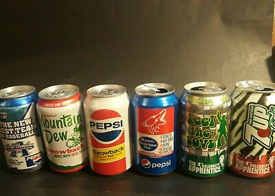 Pepsi can(coyoteS、throwback、Donald John Trump 7up) ONLY SHIPPING IN USA