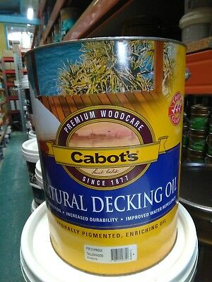 Cabots Decking Oil