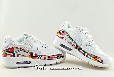 buy online 51cb7 f9846 NIKE AIR MAX 90 NIC QS - SIZE 4.5 - AO5119-100 World Cup Flag Pack ...