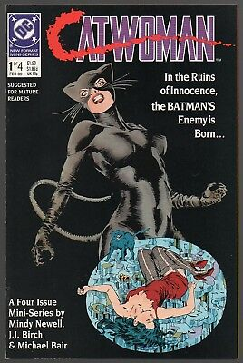 Catwoman #1 NM- 1989 Michael Bair Limited Series FREE S/H