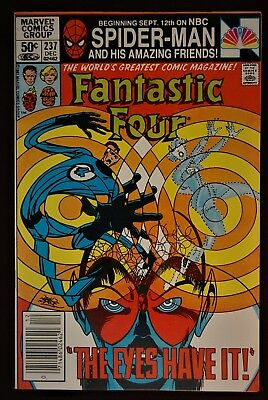 Fantastic Four 237 Mark Jewelers Insert VF/NM Condition