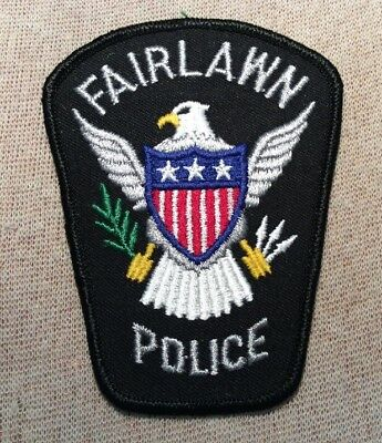 OH Fairlawn Ohio Police Patch