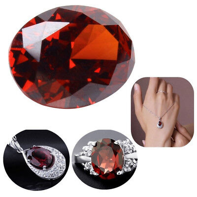 1 Set Oval Egg Shaped Zircon Stone Loose Gemstone For Jewelry Making DIY Maker