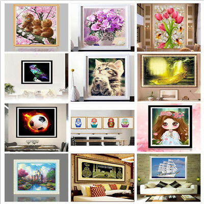 DIY 5D Magic Cube Round Diamond Embroidery Painting Cross Stitch Kits Gift