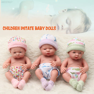 Simulation Baby Doll Mini Silicone Reborn Baby Dolls Accompany Sleep Doll