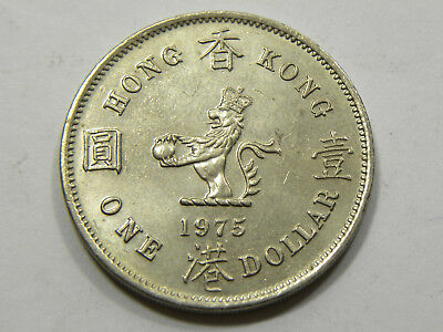 1 Dollar Hong Kong 1975 #6866