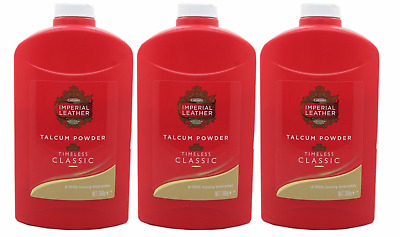 3 X CUSSONS IMPERIAL LEATHER ORIGINAL CLASSIC TALCUM POWDER TALC 300g