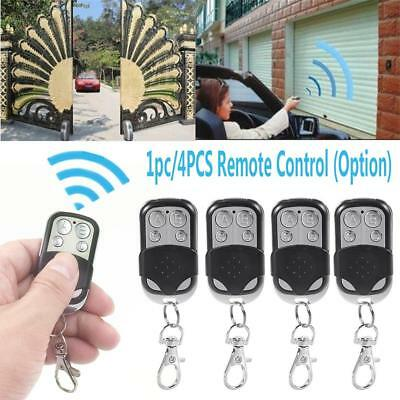 Universal 4 Button Gate Garage Door Opener Remote Control 433MHZ Rolling Code