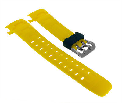 Casio Watch Band Made of Resin Yellow for G-Shock G-7600R