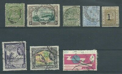 British Guiana 1863-1965 small collection good used (1012)