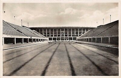 E9/ Foreign Real Photo RPPC Postcard Berlin Germany Olympic Swimming Stadium