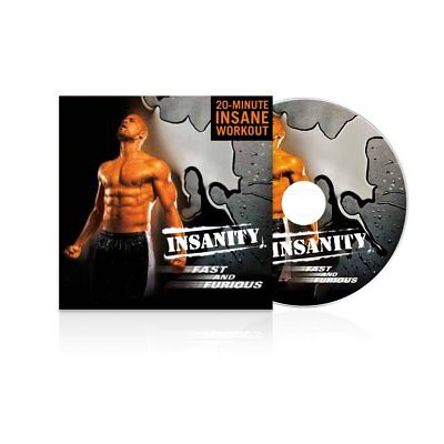 INSANITY: Insanity Fast & Furious DVD Workout - 20 Minute Workout