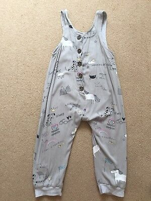 next girls 2-3 Jumpsuit Dungarees Outfit