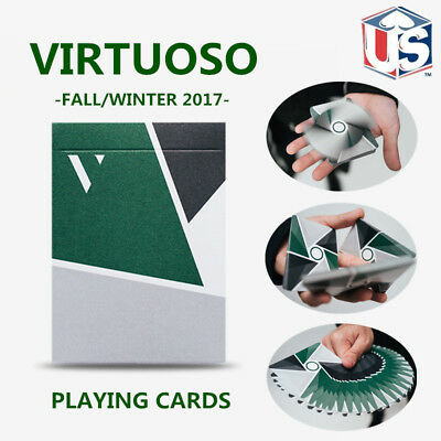 Virtuoso Fall Winter 2017 FW17 Playing Cards by The Virts Premium Cardistry