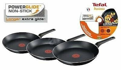 Tefal Invissia Powerglide Non-Stick Thermo-spot Frying Pans 20cm / 26cm OR 30cm
