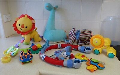 Bulk Baby Toys (9) - Walking, Singing ,talking, Music, Plush Etc - Fp/ Jelly Kn