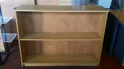 Office Bookcase Beech single fixed Shelf