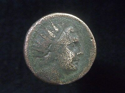Authentic Greek coin from City of Rhodes in Caria, 120-84 BC, Helios CC8845
