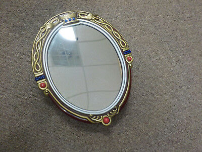Snow White and the Seven Dwarfs Talking Magic Mirror, oval standing, working