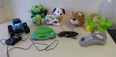 Bulk Items Toddler Toys(8) - Talking, Singing, Plush - Playskool / Vtech / Russ