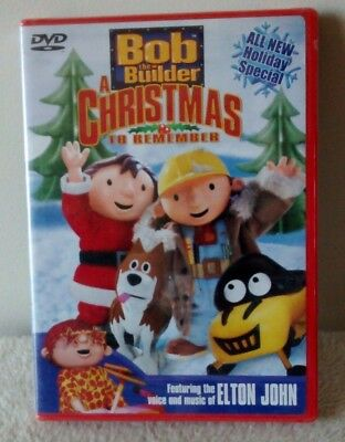 bob the builder a christmas to remember dvd 2003 elton john - Bob The Builder A Christmas To Remember